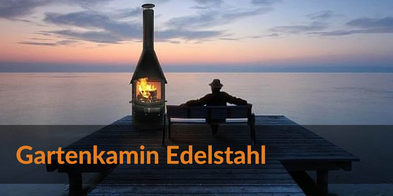 Gartenkamin Edelstahl