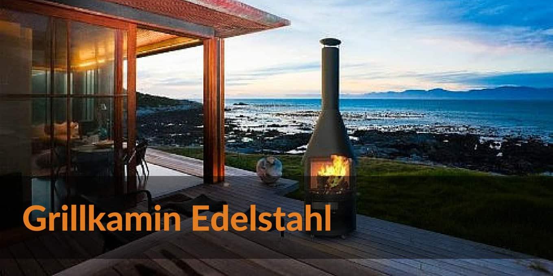 Grillkamin Edelstahl
